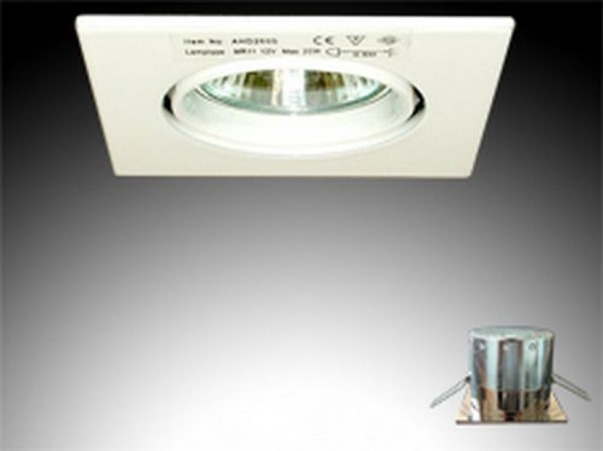 MR 11 Firkantet downlight