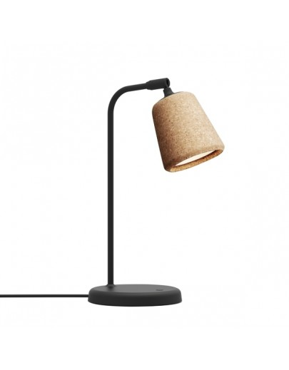 Material bordlampe i Natural Cork New Works