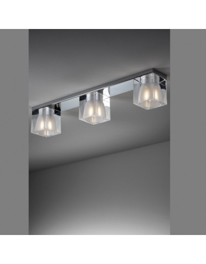 Ice Cube Trible loftlampe Fabbian