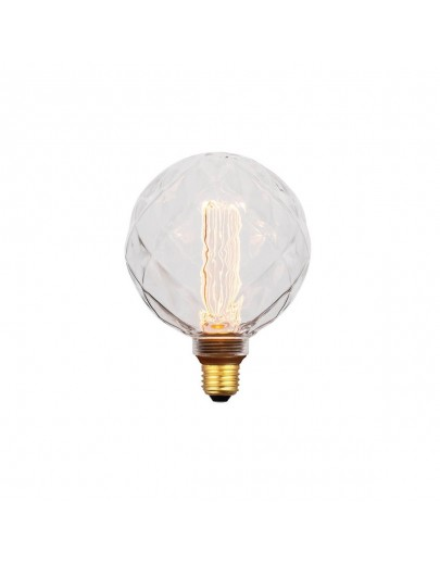 Facet Globe Dim LED E27 5W 1800K Colors