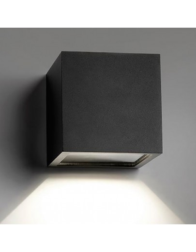 Cube XL LED i sort fra Light-point