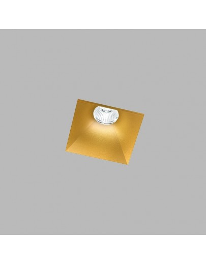 Curve Square trimless guld LED downlight Light-point