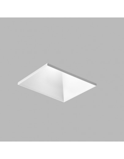 Curve Square trimless sort LED downlight Light-point