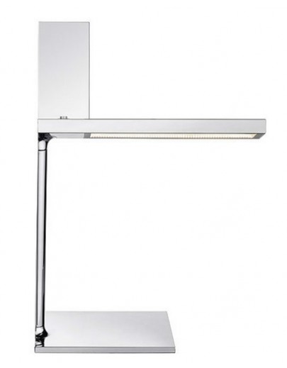 D'E-Light bordlampe Flos i krom