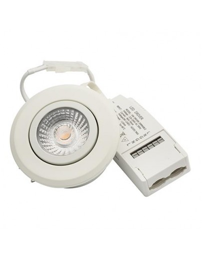 Diospot 30 soft dæmp. hvid downlight Ra 95