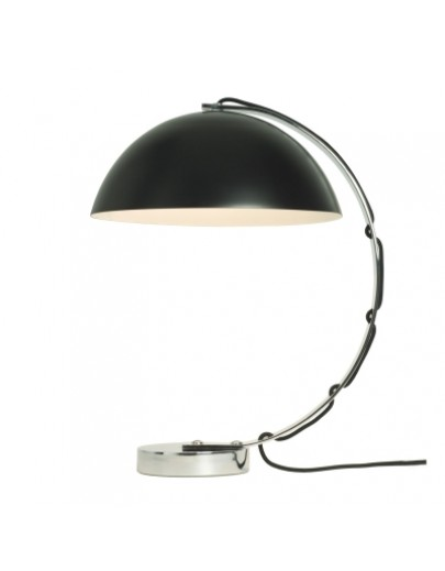London FT462K bordlampe i sort med stof ledning fra original BTC