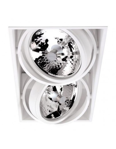 Spinner downlight x 2