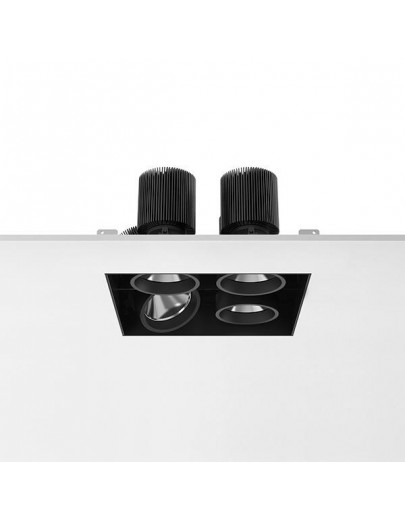 Battery No Trim small 4L Square downlights Antares