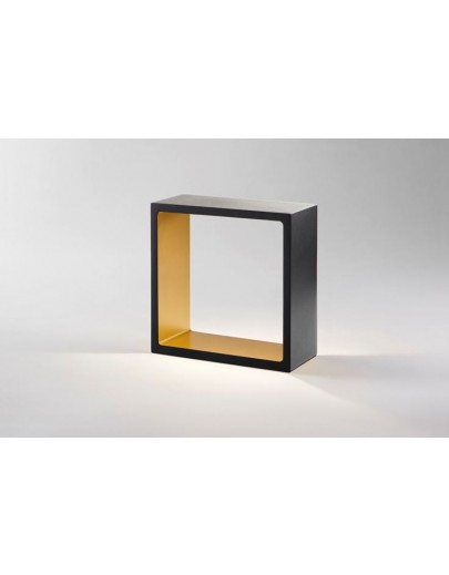 Fusion sort/guld bordlampe fra Light-point