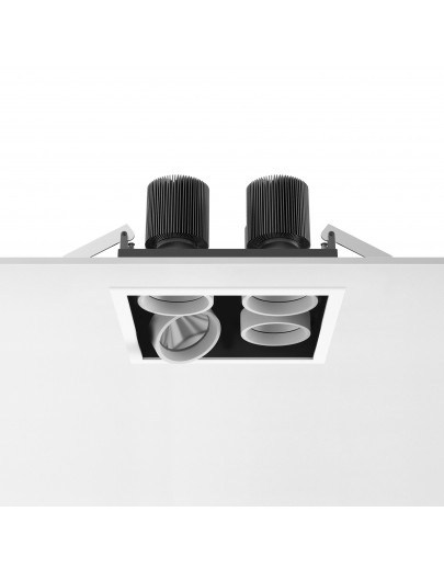 Battery Trim small 4L Square downlights Antares