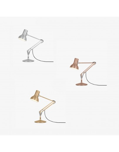 Type 75 mini Mettalic bordlampe Anglepoise