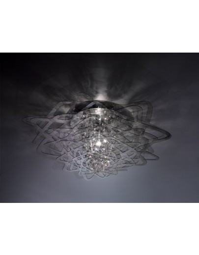 aurora 77 sort loftlampe slamp