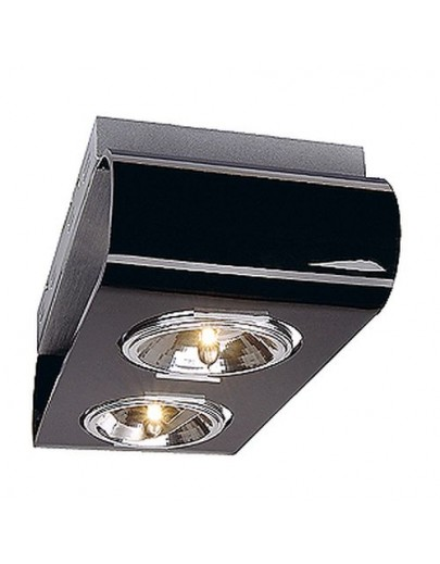 Retrosix 2 QR111 sort loftlampe SLV