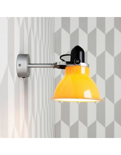 Type 1228 gul anglepoise væglampe
