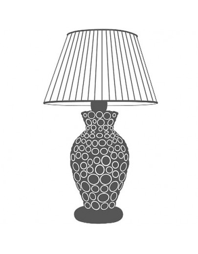Buccola bordlampe Montalto