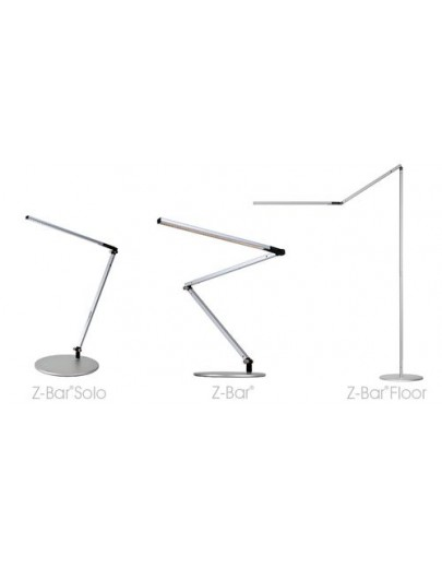 Z-Bar bordlampe sort koncept