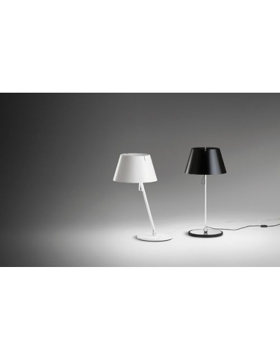 Giro 2410 / krom - sort bordlampe vibia