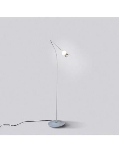Poppy Floor / 1 arm / rød gulvlampe serien lighting