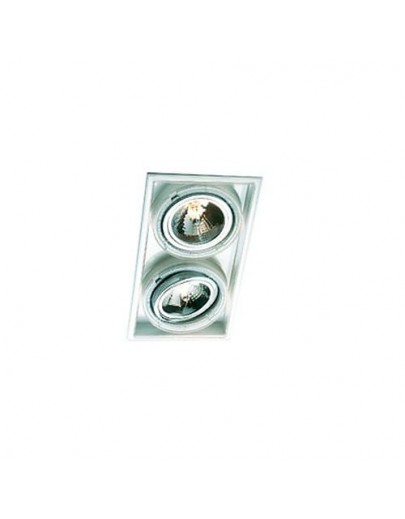 Square Axis ( dobbelt ) downlight marset