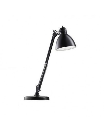 Bordlampe T1 sort vist med bordfod light-point