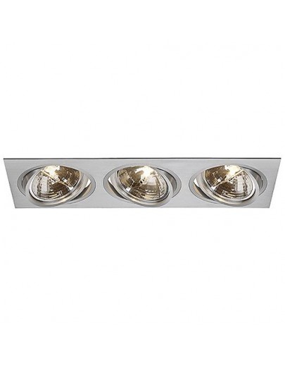 New tria III qrb111 - downlight - aluminium - SLV