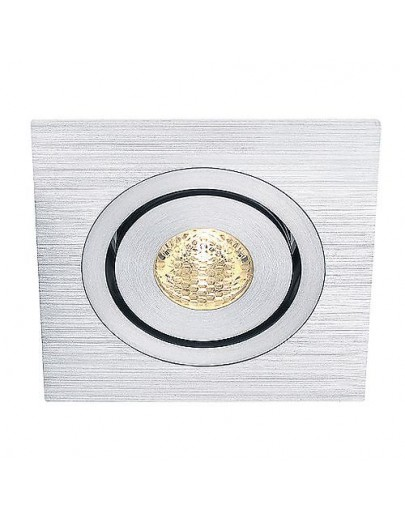 Lelex 1 LED natur hvid downlight aluminium SLV
