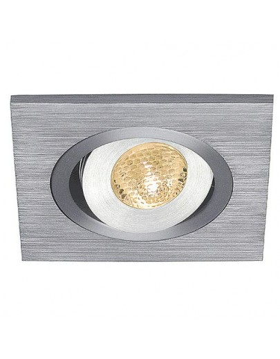 Lelex 1 LED warm white downlight aluminium SLV