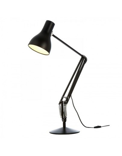 Type 75 sort bordlampe anglepoise