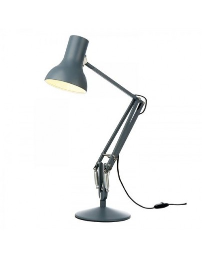 Type 75 mini grå anglepoise bordlampe