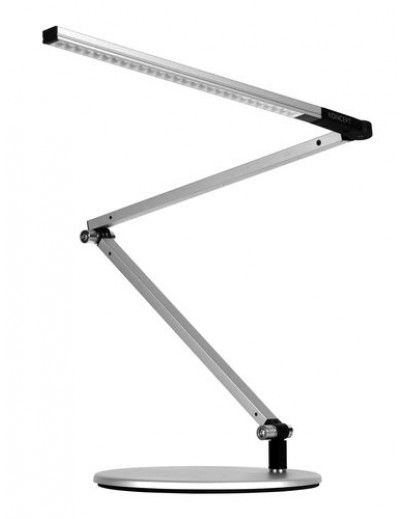 Z-Bar mini silver bordlampe koncept