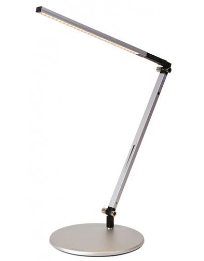 Z-Bar solo mini bordlampe silver koncept