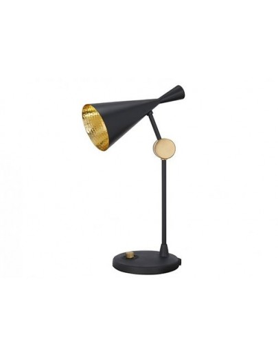 Beat table black bordlampe fra tom dixon