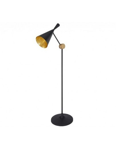Beat floor black gulvlampe tom dixon