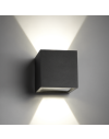 Cube LED sort væglampe fra light-point