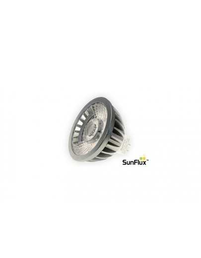SunFlux LED spot GU5.3 MR16 5W 2700K 310Lm Ra95 38°