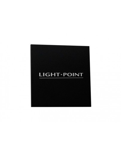Cube nameplate Light Point