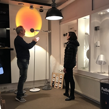 Rådgivning i showroom